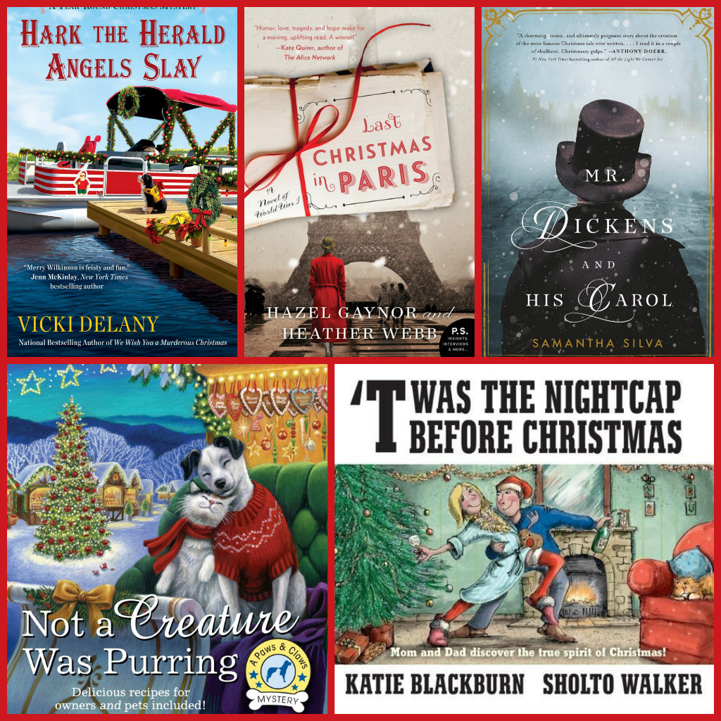 Beth Fish Reads: 11 Christmas-Themed Novels To Read This Month