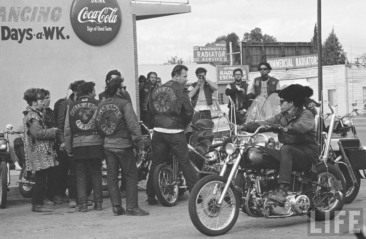 Anthony Luke's not-just-another-photoblog Blog: Hells Angels by LIFE