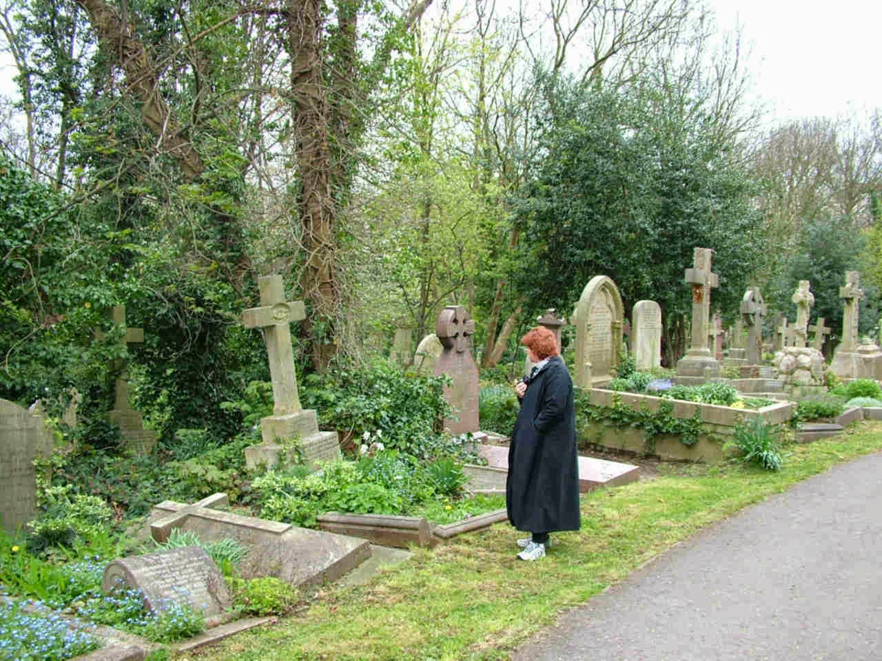 Most Scary Places: Highgate Cemetery, North London, England