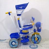 doraemon official licensed sepeda roda tiga