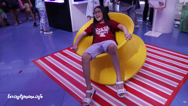 Science Circus - Robinsons Place Bacolod - The Science Museum - spinning chair
