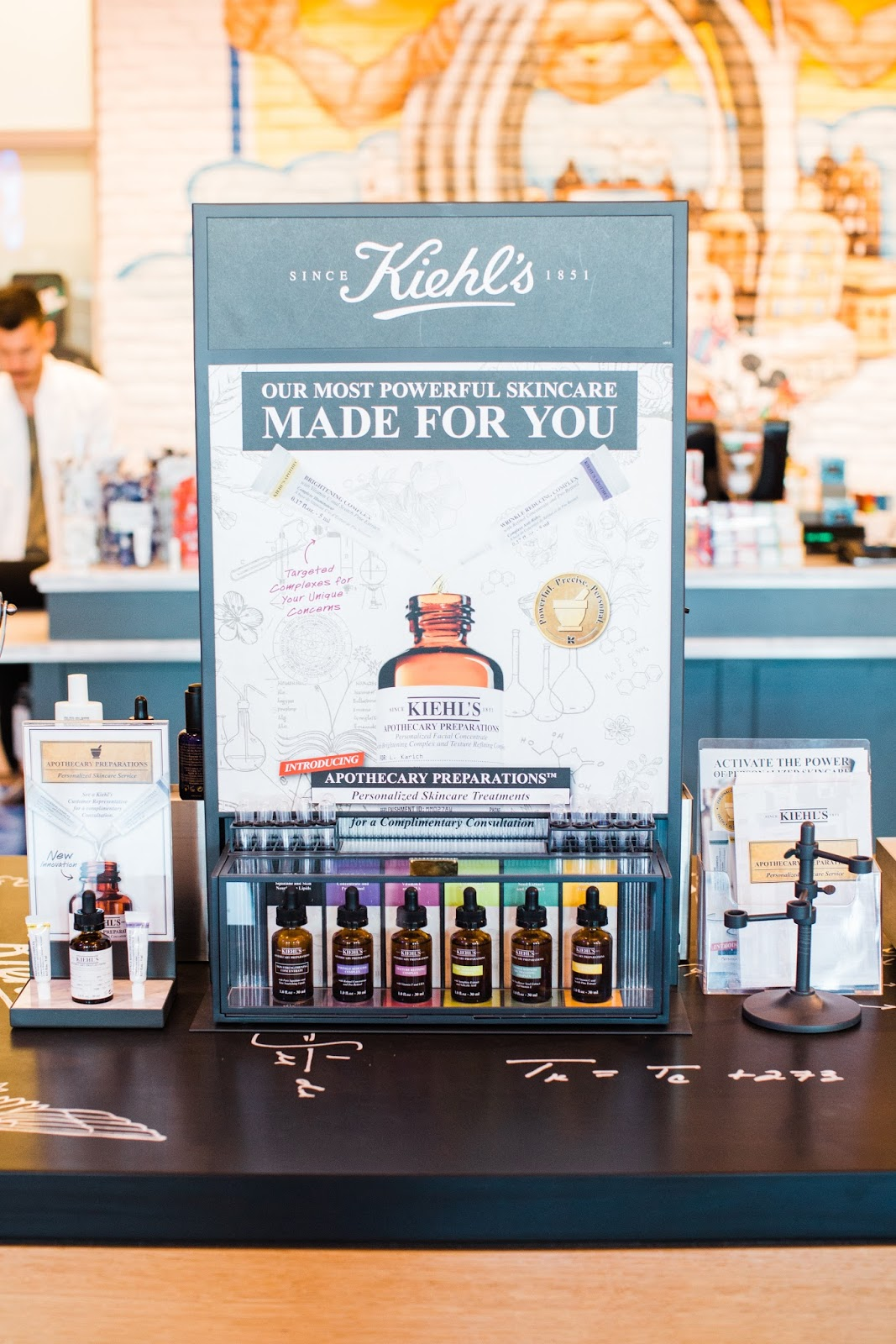 Apothecary Preparations: Kiehl's New Personalized Skincare Service
