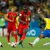 Fim de linha para o Brasil e Bélgica passa ás semi-finais