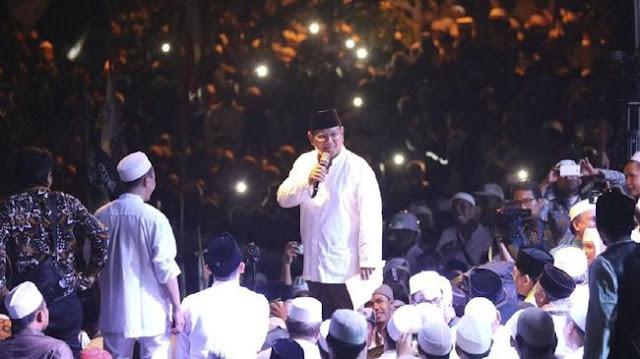 Prabowo Kembali Berjanji Jemput Rizieq Jika Terpilih di 2019