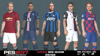 PES 2017 Kitpack New Season 2019/2020 v1.0