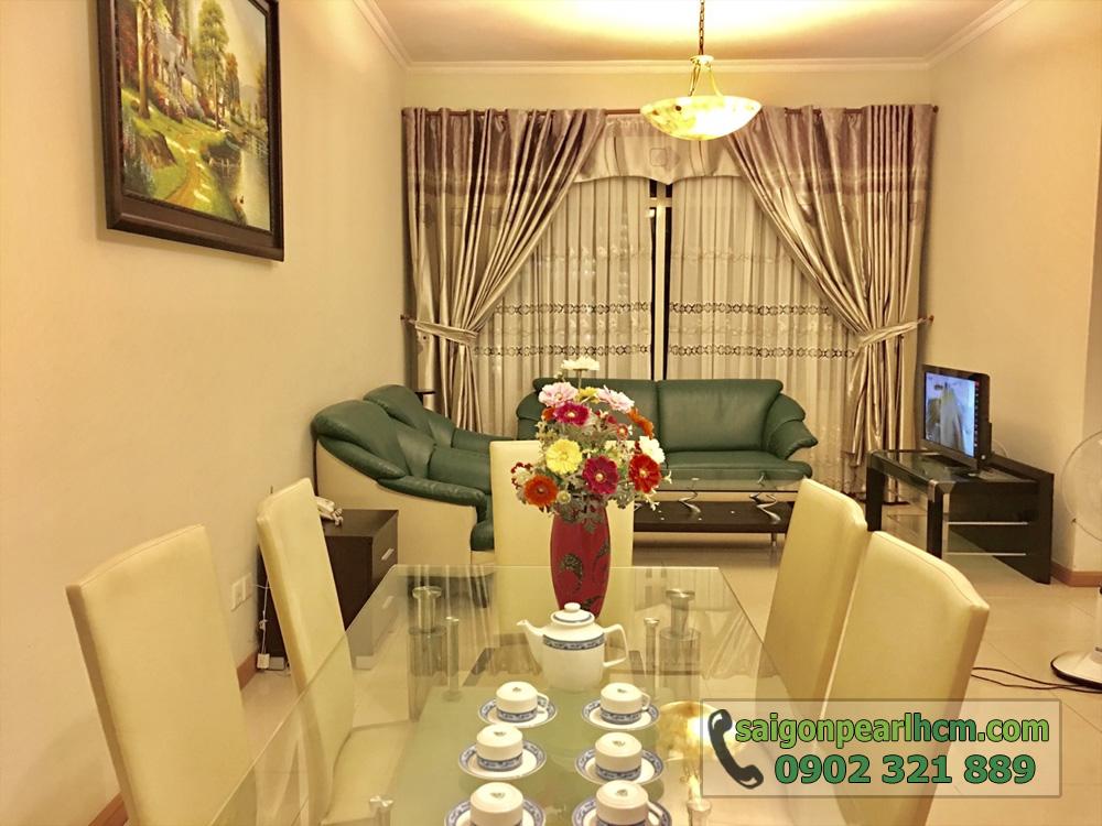Căn hộ 2PN tại Saigon Pearl Topaz 1 cho thuê - hình 2