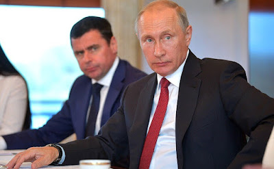 Vladimir Putin at the meeting with members of the public of Yaroslavl Region.