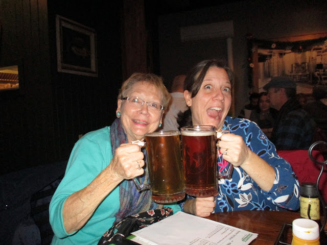 Celebrating at Roy Pitz Brewing Company in Chambersburg, PA