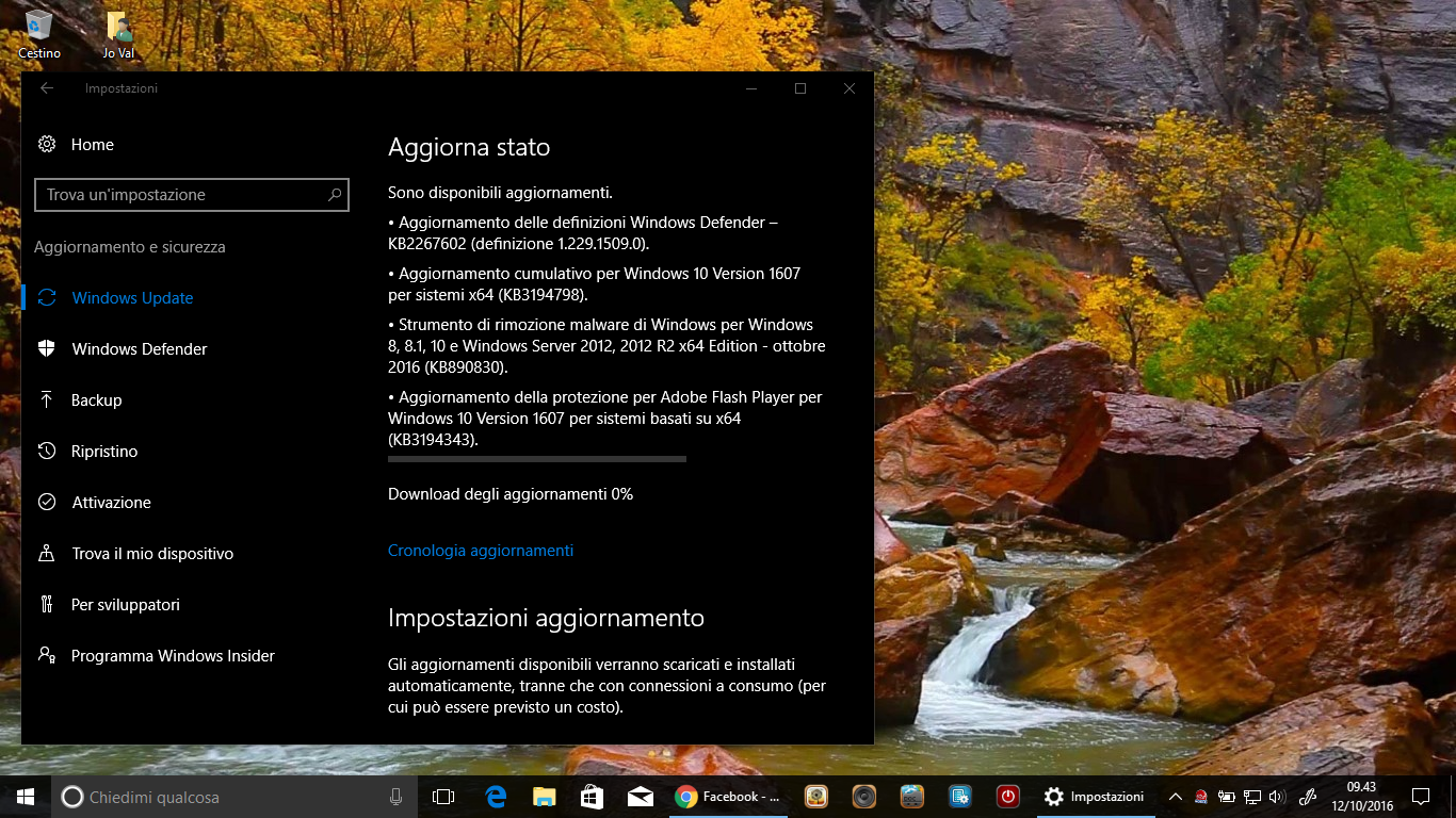 Windows 10 1607 arriva alla Build 14393.321 2 HTNovo