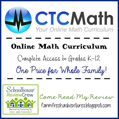 CTCMath Homeschool Membership ~Curriculum Review