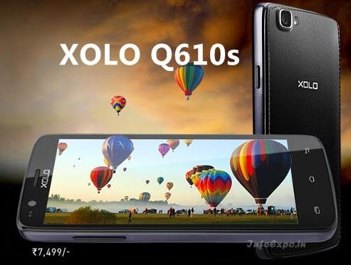XOLO Q610s : 4.5inch Dual-Sim,Quadcore Android KitKat Phone Specs,Price