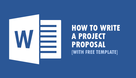 How To Write A Winning Project Proposal ~ I4U All -CENTER - business project proposal template