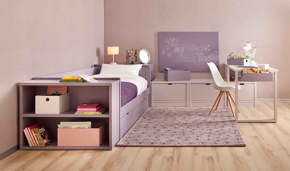 Dormitorios con camas nido - Habitaciones infantiles 2 camas ...