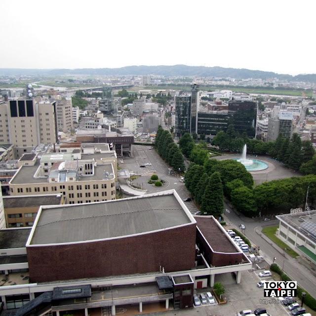 【富山市役所展望塔】白天看立山晚上看夜景的免費觀景台