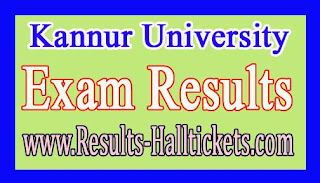 Kannur University BCA Ist / IInd Sem Regular (SDE) Apr 2016 Exam Results