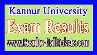 Kannur University BCA Ist / IInd Sem Regular (SDE) Apr 2016 Exam Results