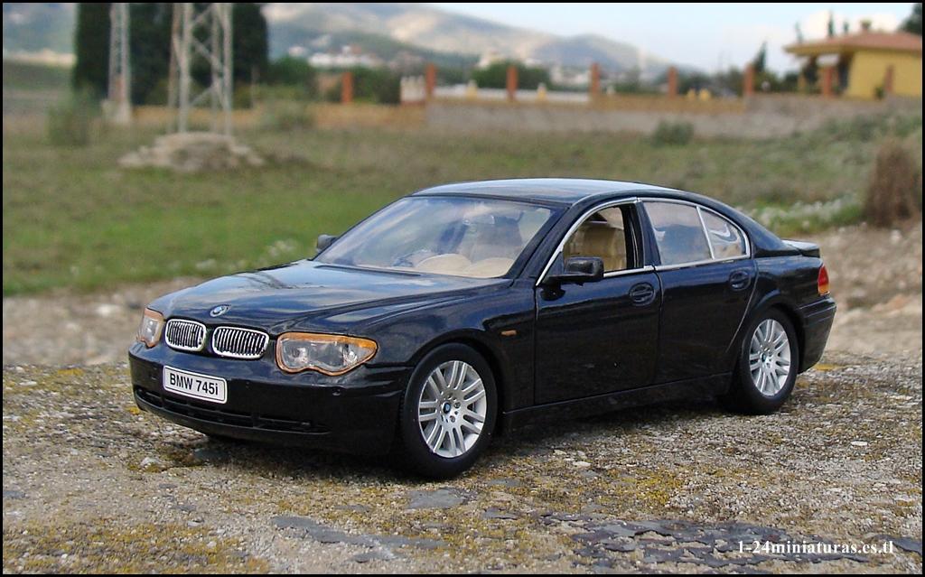 BMW 745i E65 E66 2001 2009 124 Welly N
