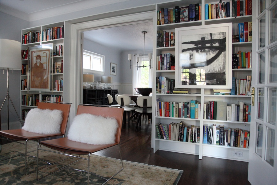 8FOOTSIX: Living room bookshelves
