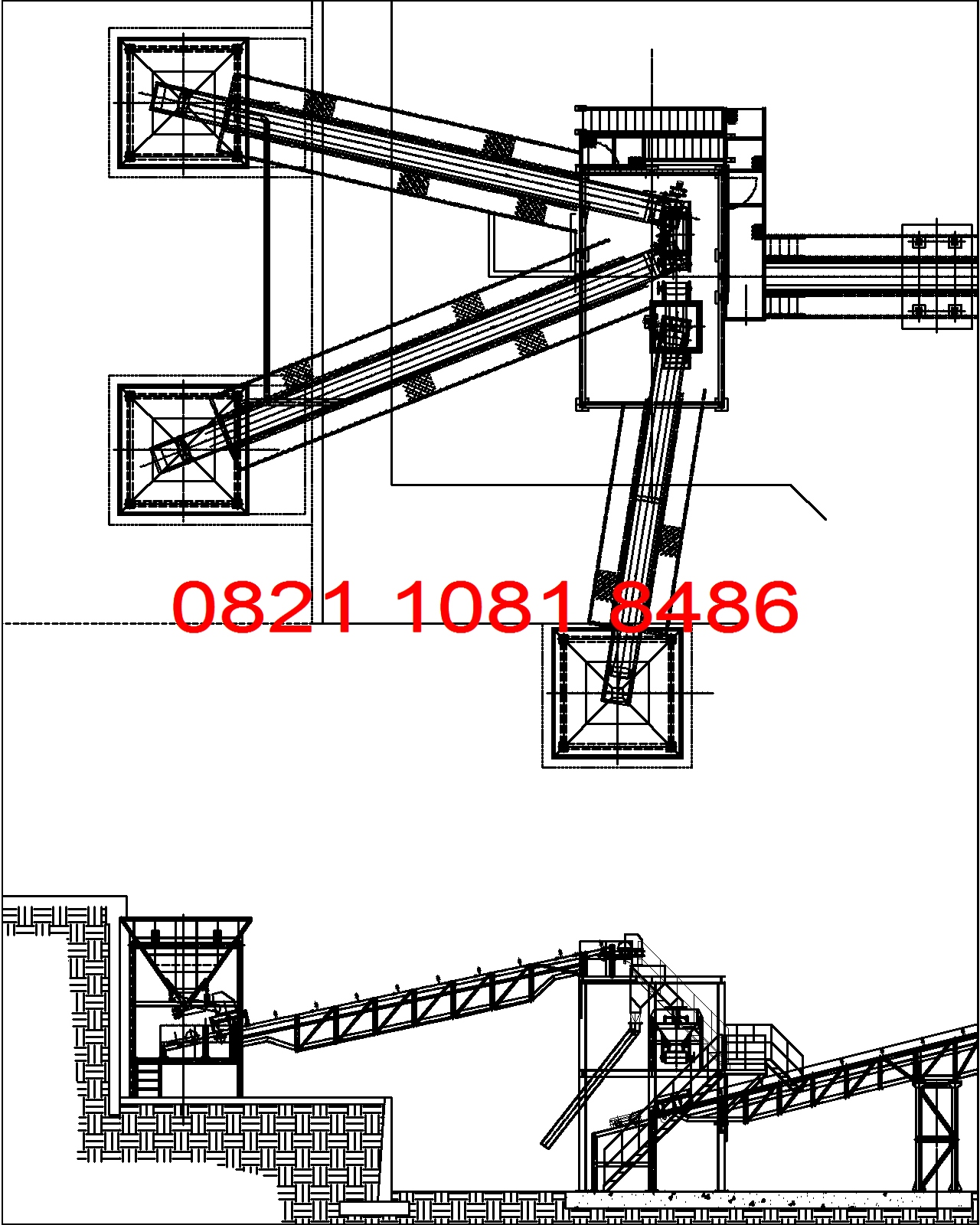 Unit Pemindah Material Conveying Conveyor Jual Stone