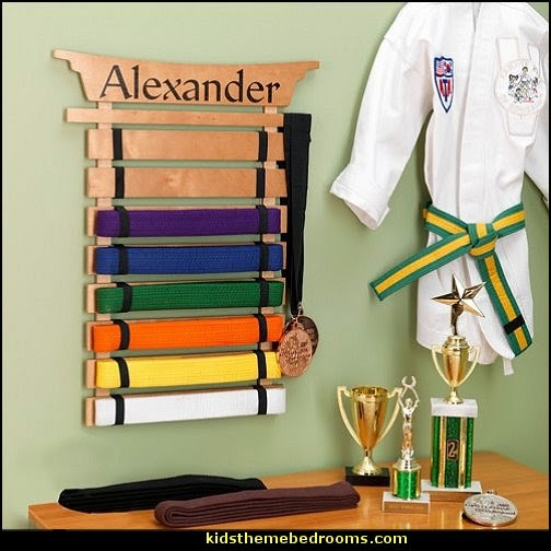 Decorating theme bedrooms maries manor martial arts for Decoration chambre karate