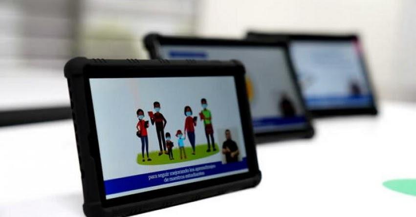 MINEDU entregará tablets a estudiantes y docentes a partir de octubre, tras completar la adquisición de más de 1 millón 50 mil dispositivos electrónicos