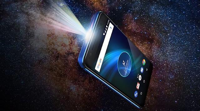 Telefon Allview cu videoproiector laser