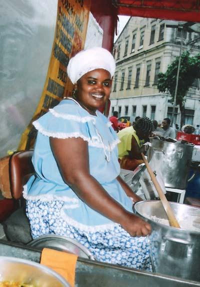 Tabuleiro de acarajé mais famoso do bairro está de luto