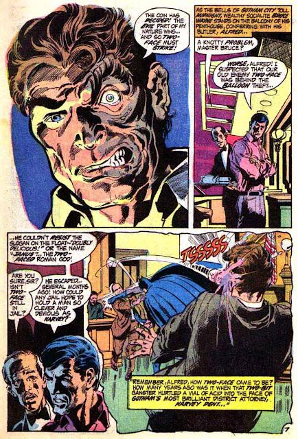 Batman v1 #234 dc comic book page art by Neal Adams