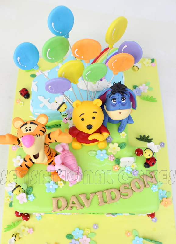 The Sensational Cakes Pooh And Friends 3d Sugarcrafted