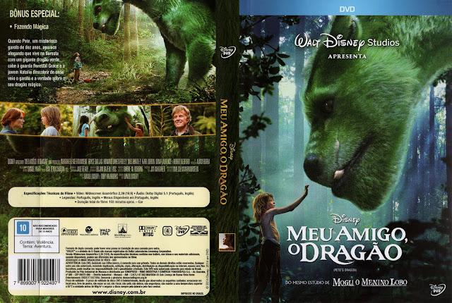 Capa DVD Meu Amigo O Dragão