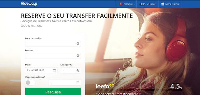 Compra de um Transfer do Aeroporto de Pisa até o hotel