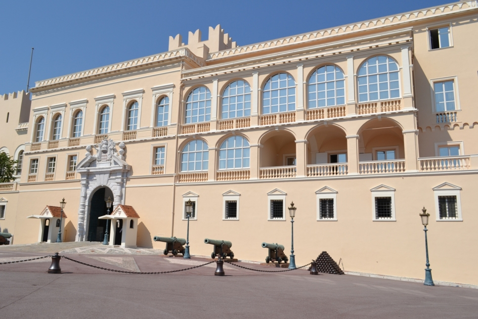 Palatul regal Monte-Carlo Monaco