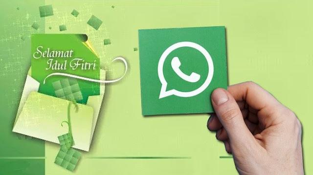 Kirim Ucapan Selamat Idul Fitri Melalui Whatsapp Pakai Format GIF, Jadi Lebih Menarik!