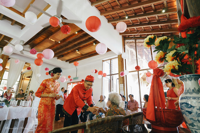 tea ceremony wedding bukit tinggi