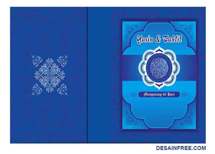 Contoh Desain Cover Buku Yasin Format Cdr Dan Ai Free