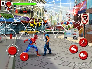 Free Download Spiderman Total Mayhem apk + data