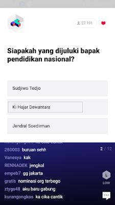 cara menjawab pertanyaan dari aplikasi T-GO Android