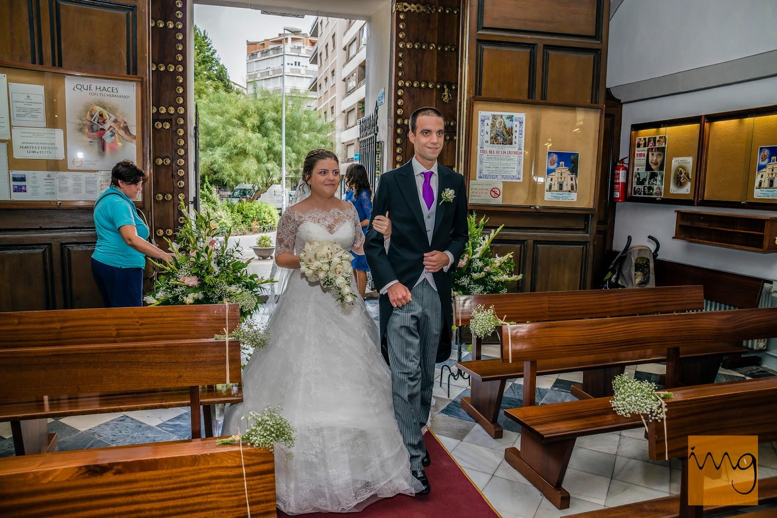 Fotografía de boda, la entrada