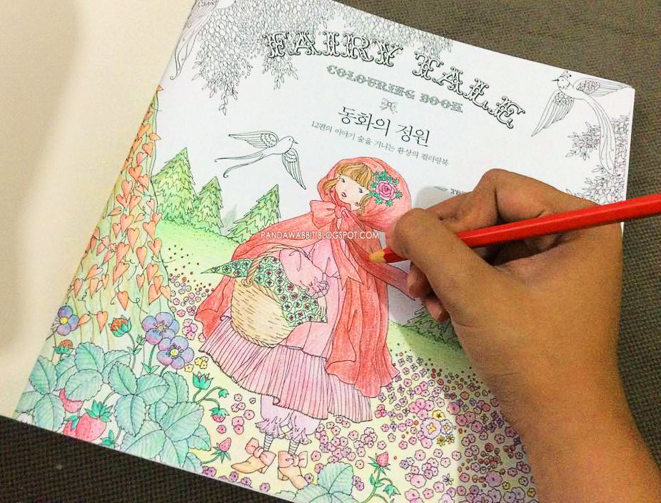 Review: Fairy Tale (coloring book) by Tomoko Tashiro - My Colorful World