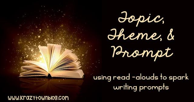 Get more out of your teaching time by using children's literature to spark writing prompts.