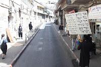 Orthodox-Joodse wijk Mea Sjearim