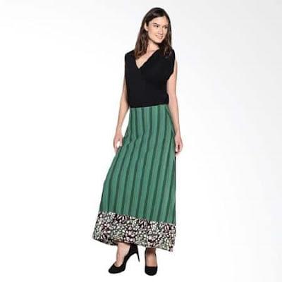 model rok panjang untuk orang gemuk tinggi