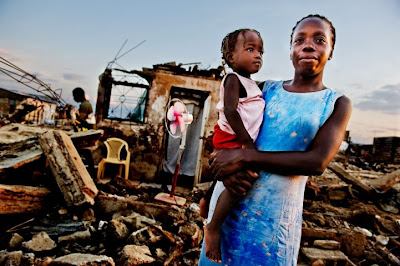 Volunteers to Haiti