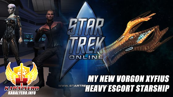 Let's Play Star Trek Online [E11] ★ My New Vorgon Xyfius Heavy Escort Starship