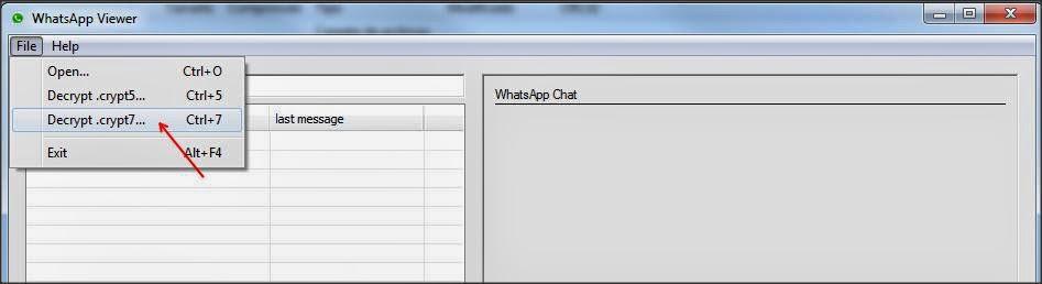 Aplicación Android para robar y leer chats de WhatsApp en Android