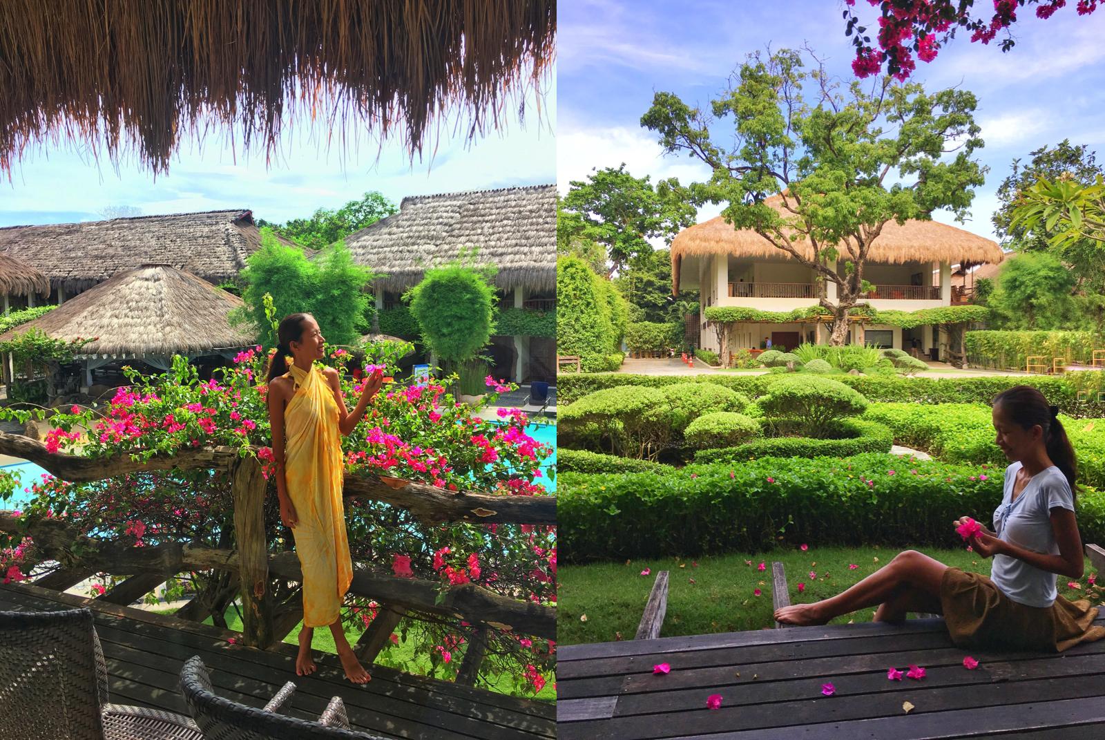 bluewater beach resort maribago cebu blog review