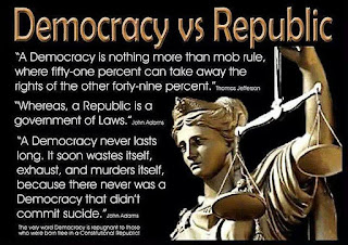 America is not a democracy