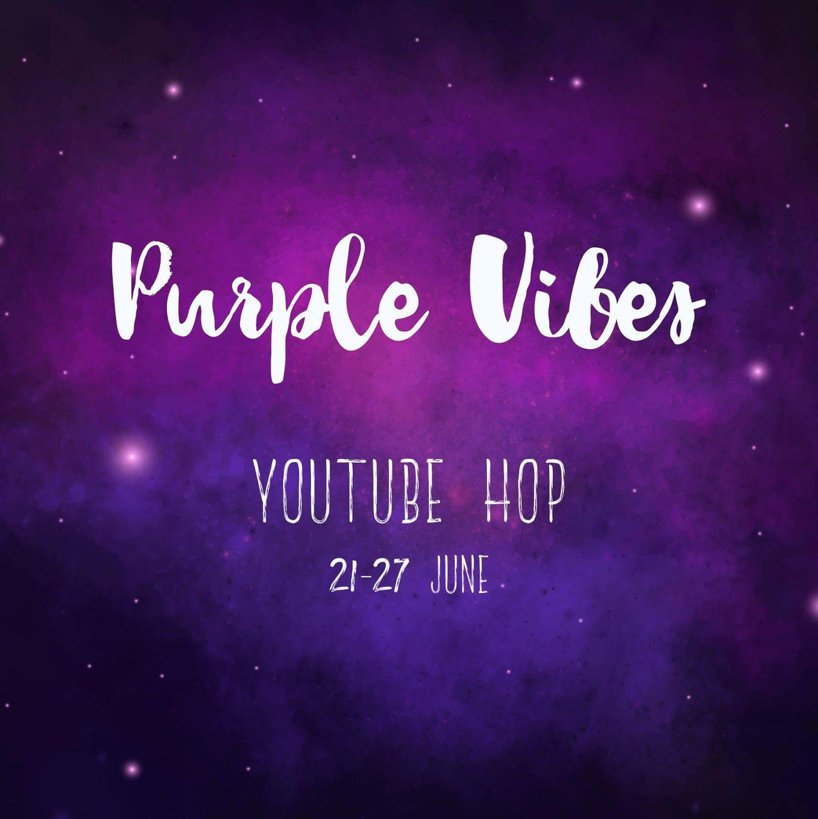 Enjoy Purple Vibes YouTube Hop