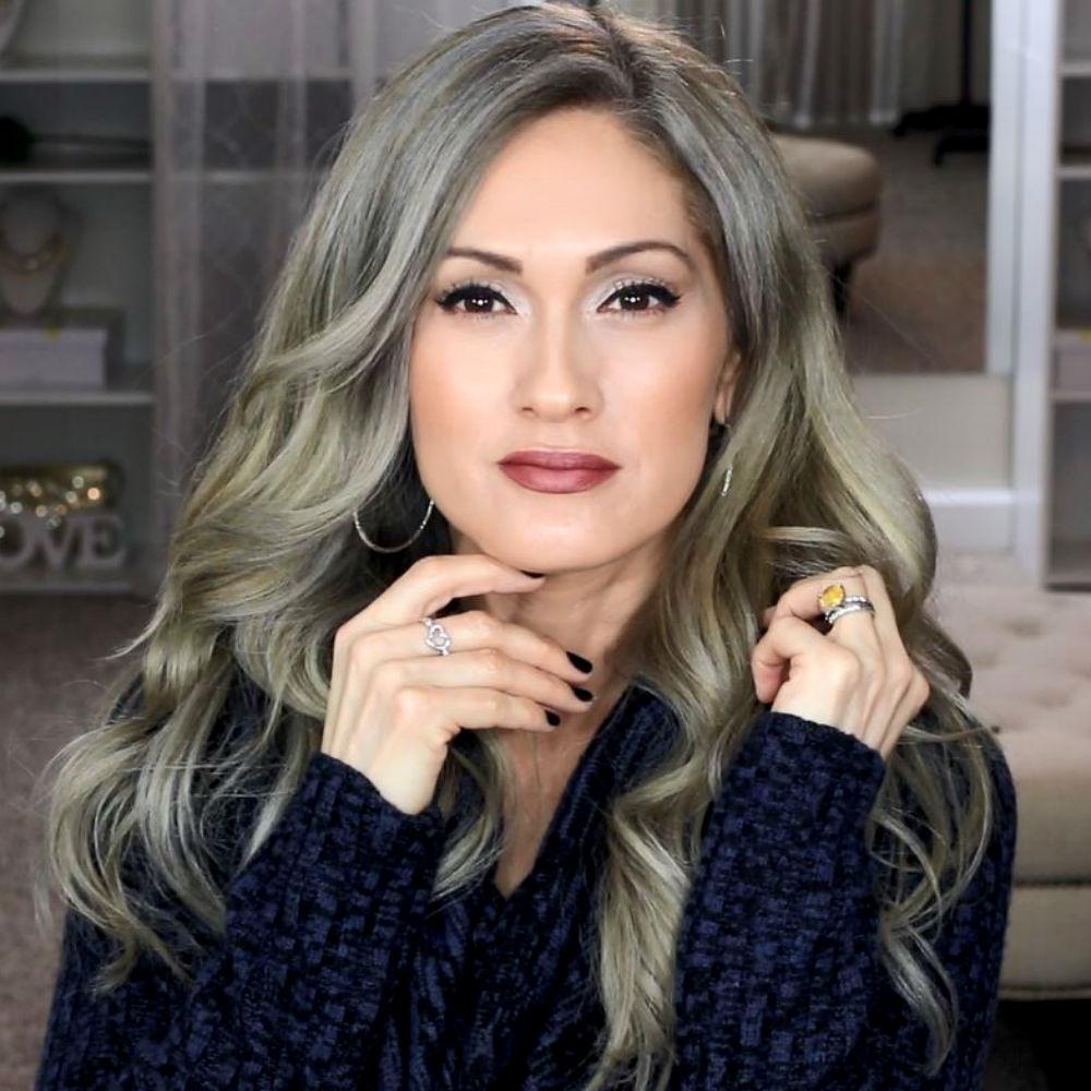 Beauty101bylisa Grammy To Glammy Silver Gray Hair Makeup