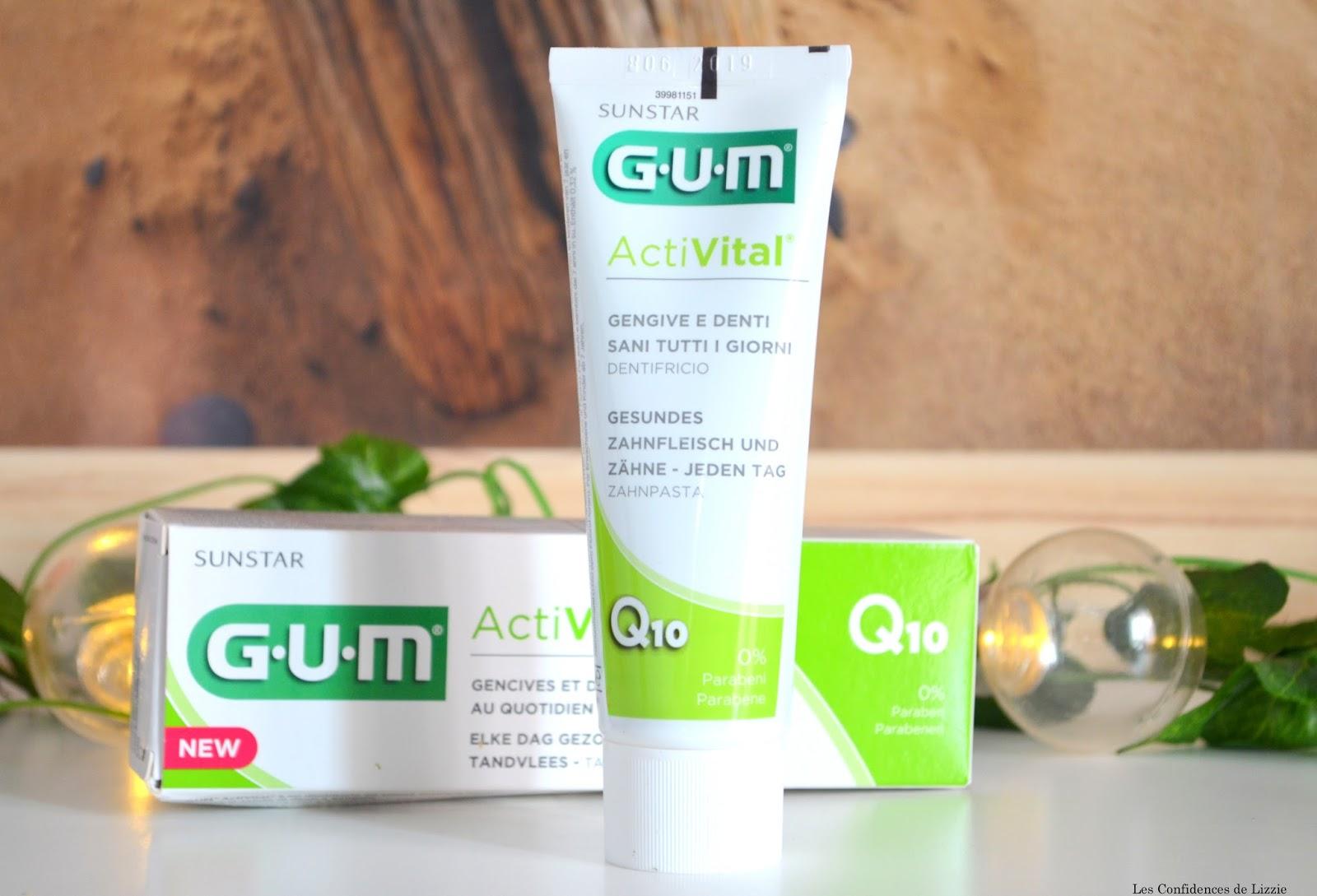soins dentaires - dentifrice Activital - Bain de bouche Activital - brosse à dents souple